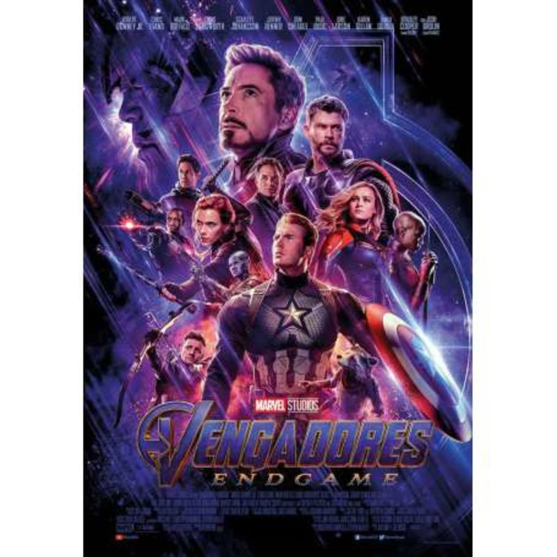 VENGADORES: ENDGAME (DVD) * ROBERT DOWNEY JR, CHRIS EVAN