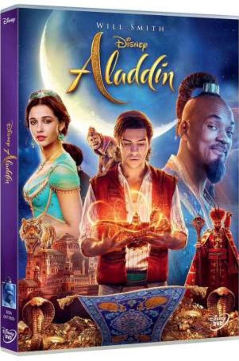 ALADDIN (2019) (DVD) * MENA MASSOUD, NAOMI SCOTT