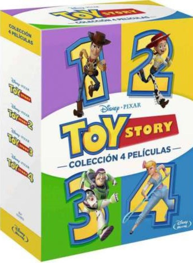 PACK TOY STORY 1-4 (DVD)