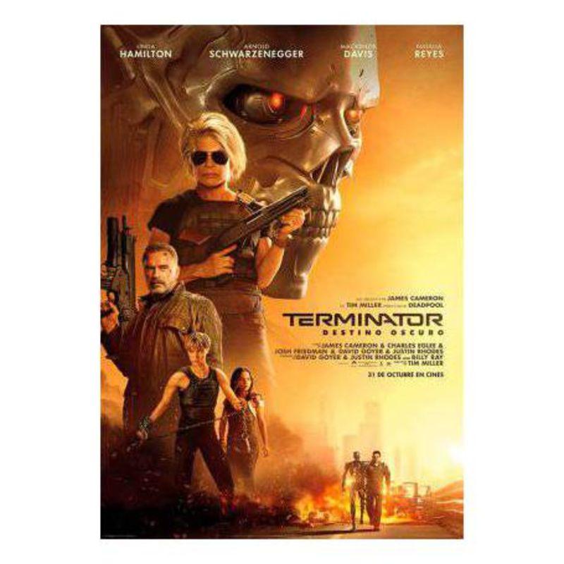 TERMINATOR, DESTINO OSCURO (DVD) * ARNOLD SCHWARZENEGGER