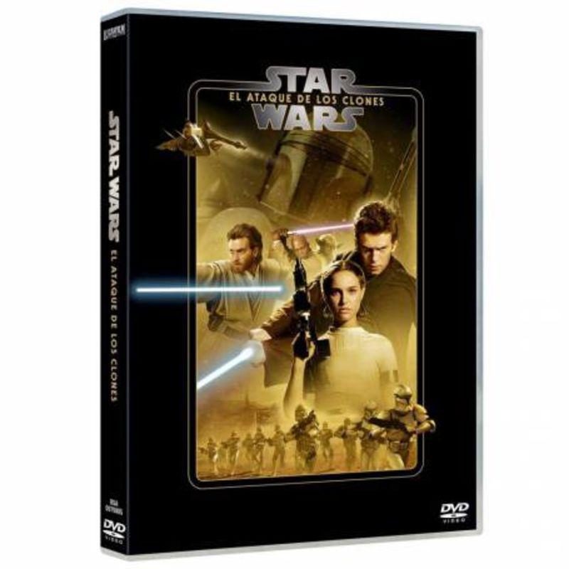 STAR WARS EPISODIO II: EL ATAQUE DE LOS CLONES (2020) (DVD)