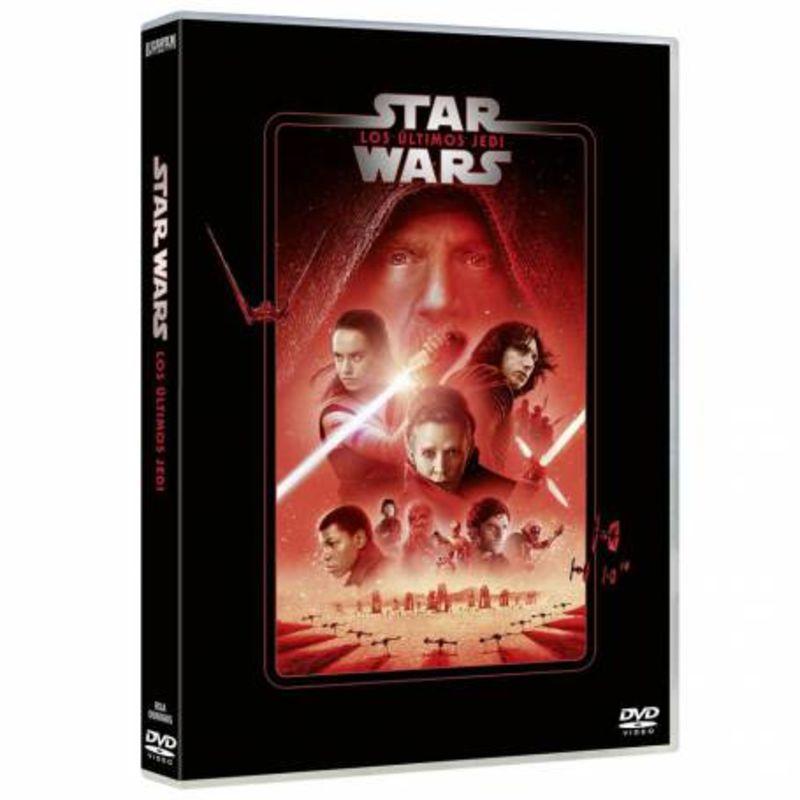 STAR WARS, EPISODIO VIII: LOS ULTIMOS JEDI (2020) (DVD)