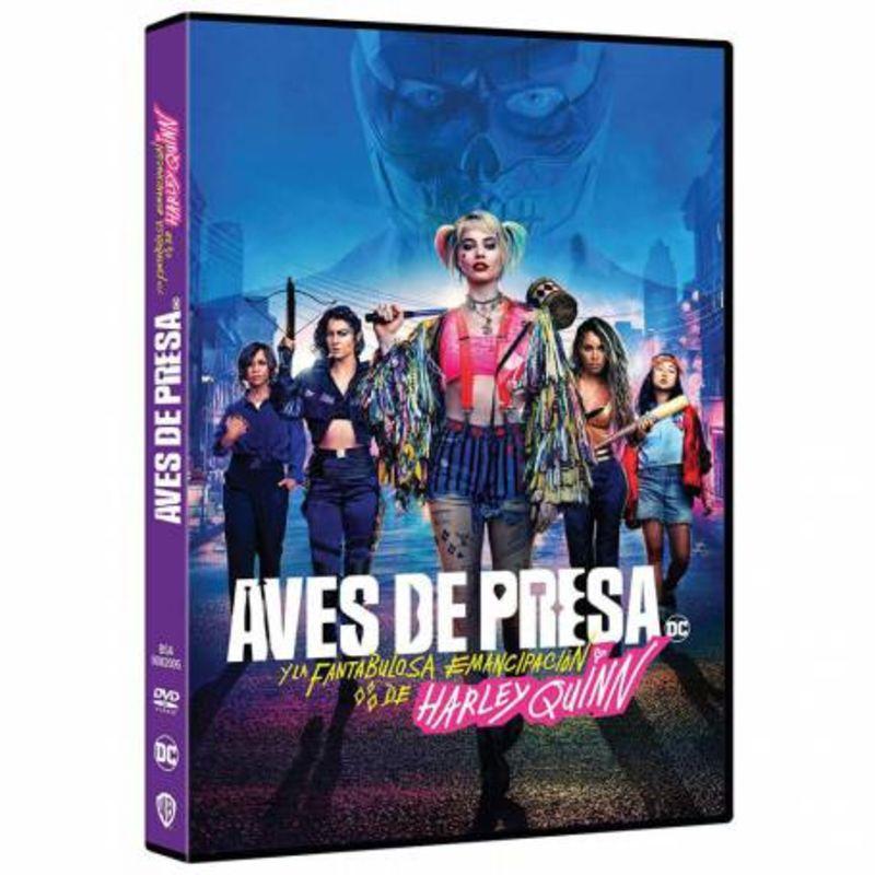 AVES DE PRESA (Y LA FANTABULOSA EMANCIPACION DE HARLEY QUINN) (DVD)