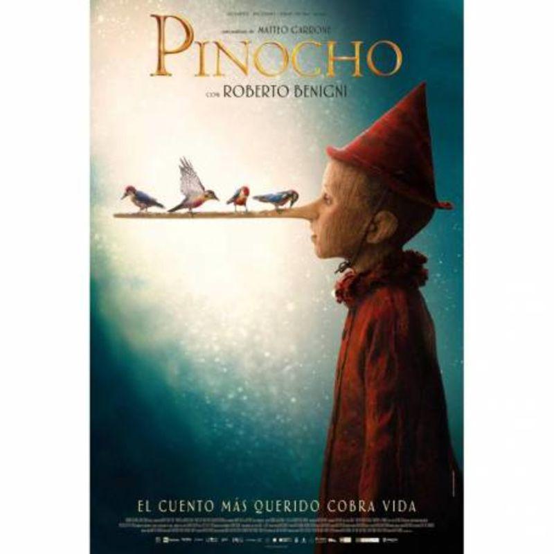 PINOCHO (2021) * ROBERTO BENIGNI