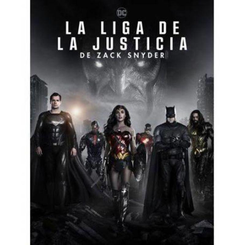 LA LIGA DE LA JUSTICIA DE ZACK SNYDER (DVD) * BEN AFFLECK