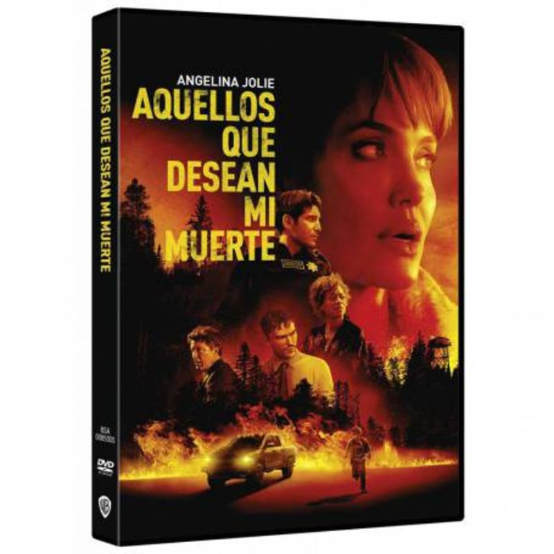 AQUELLOS QUE DESEAN MI MUERTE (DVD) * ANGELINA JOLIE