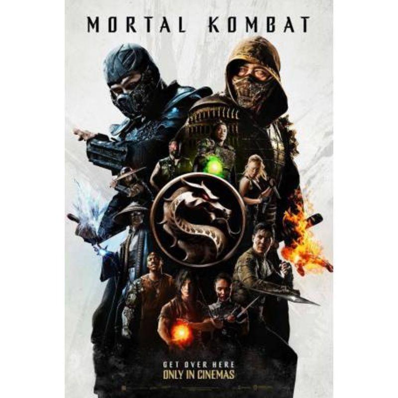 MORTAL KOMBAT (2021) (DVD)