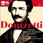 DONIZETTI: SONATAS OVERTURES & WALTZES FOR PIANO (2 CD) * ELISABETTA