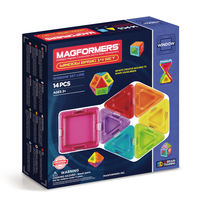 MAGFORMERS * WINDOW BASIC 14 R: 714001