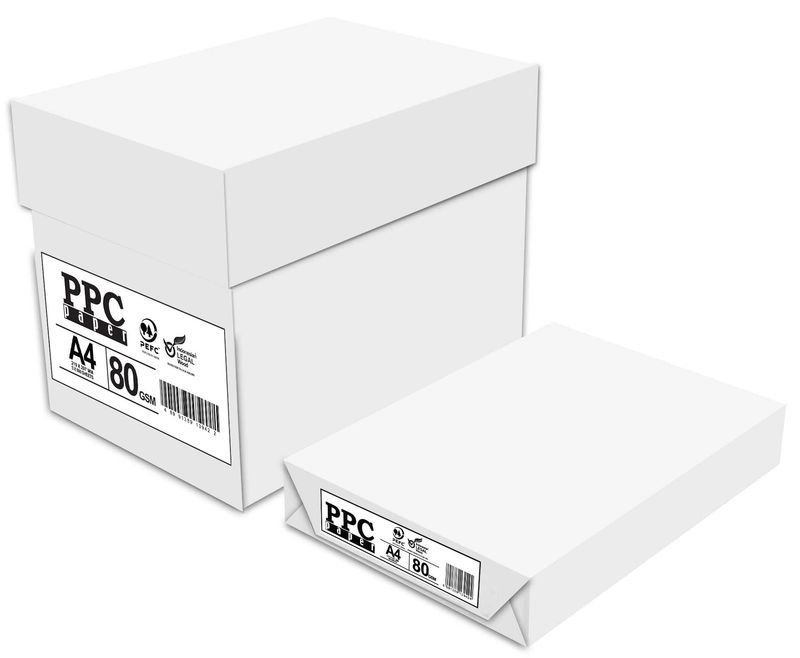 C / 5 PAQUETE 500H 80gr PPC PAPER MULTIFUNCION