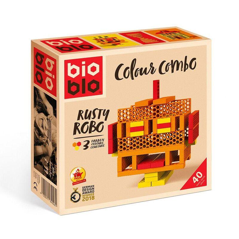 COLOUR COMBO RUSTY BIOBLO 40 PIEZAS