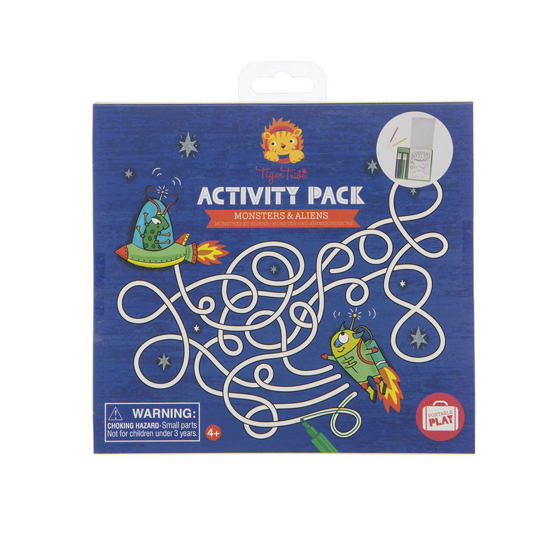 ACTIVITY PACK MONSTERS & ALIENS R: 3760309