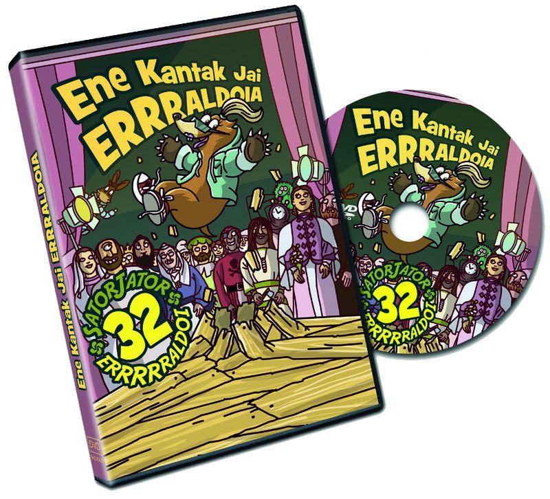 Jai Erraldoia Ikuskizuna (dvd) - Ene Kantak