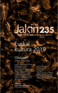 JAKIN ALDIZKARIA 235 Zka. 2019 AZAROA / ABENDUA
