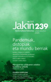 JAKIN ALDIZKARIA 239 Zka. 2020 UZTAILA / ABUZTUA