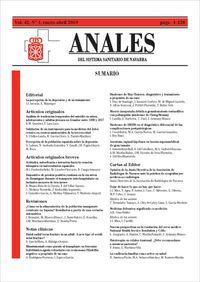 Anales Sistema Sanitario De Navarra Nº 42-1 - Aa. Vv.
