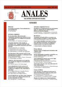ANALES SISTEMA SANITARIO DE NAVARRA Nº 43-3