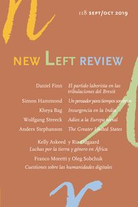 New Left Review 118 Sep / Oct 2019 - Aa. Vv.