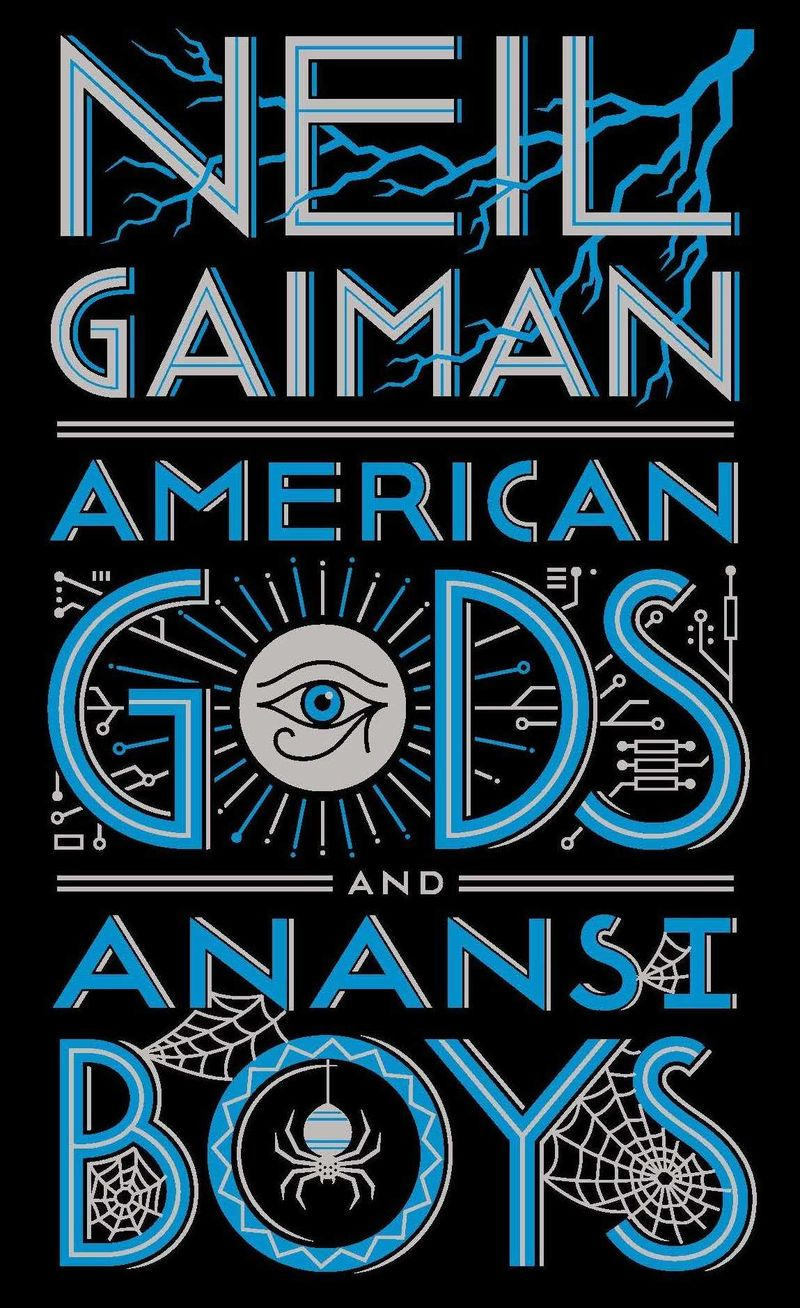 AMERICAN GODS AND ANANSI BOYS LEATHERBOUND