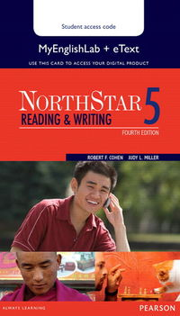 NORTHSTAR READING AND WRITING 5 ETEXT (+MY ENGLISH LAB)