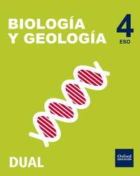ESO 4 - BIOLOGIA Y GEOLOGIA (PACK) - INICIA DUAL