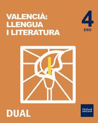 ESO 4 - LLENGUA I LITERATURA - INICIA DUAL (C. VAL)
