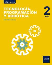 ESO 2 - TECNOLOGIA, PROGRAMACION Y ROBOTICA - MECANISMOS - INICIA DUAL (MAD)