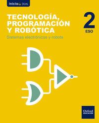 ESO 2 - TECNOLOGIA, PROGRAMACION Y ROBOTICA - SISTEMAS ELECTRONICOS Y ROBOTS - INICIA DUAL (MAD)