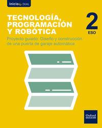 ESO 2 - TECNOLOGIA, PROGRAMACION Y ROBOTICA - DISEÑO Y CONSTRUCCION DE UNA PUERTA DE GARAJE AUTOMATICA - INICIA DUAL (MAD)
