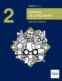 BACH 2 - HISTORIA DE LA FILOSOFIA - INICIA DUAL