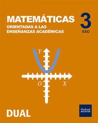 ESO 3 - MATEMATICAS (ACADEMICAS) - INICIA DUAL