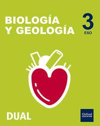 Eso 3 - Biologia Y Geologia - Nacar - Inicia Dual - Aa. Vv.