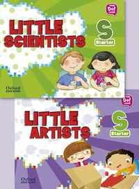 3 YEARS - LITTLE ARTIST + LITTLE SCIENTISTS STARTER PK