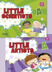 4 YEARS - LITTLE ARTIST + LITTLE SCIENTISTS A PK