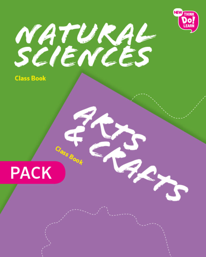 EP 4 - NEW THINK DO LEARN NATURAL + ARTS (M1) 4 PACK