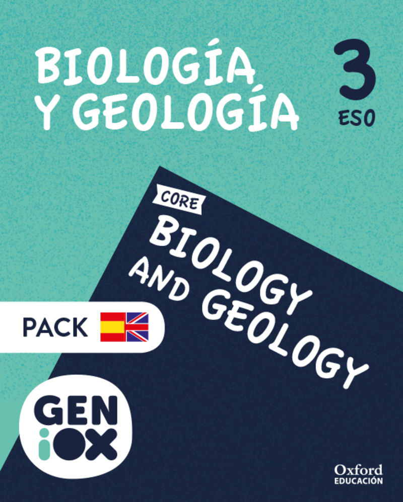 ESO 3 - BIOLOGY & GEOLOGY (AND) GENIOX PACK BILING