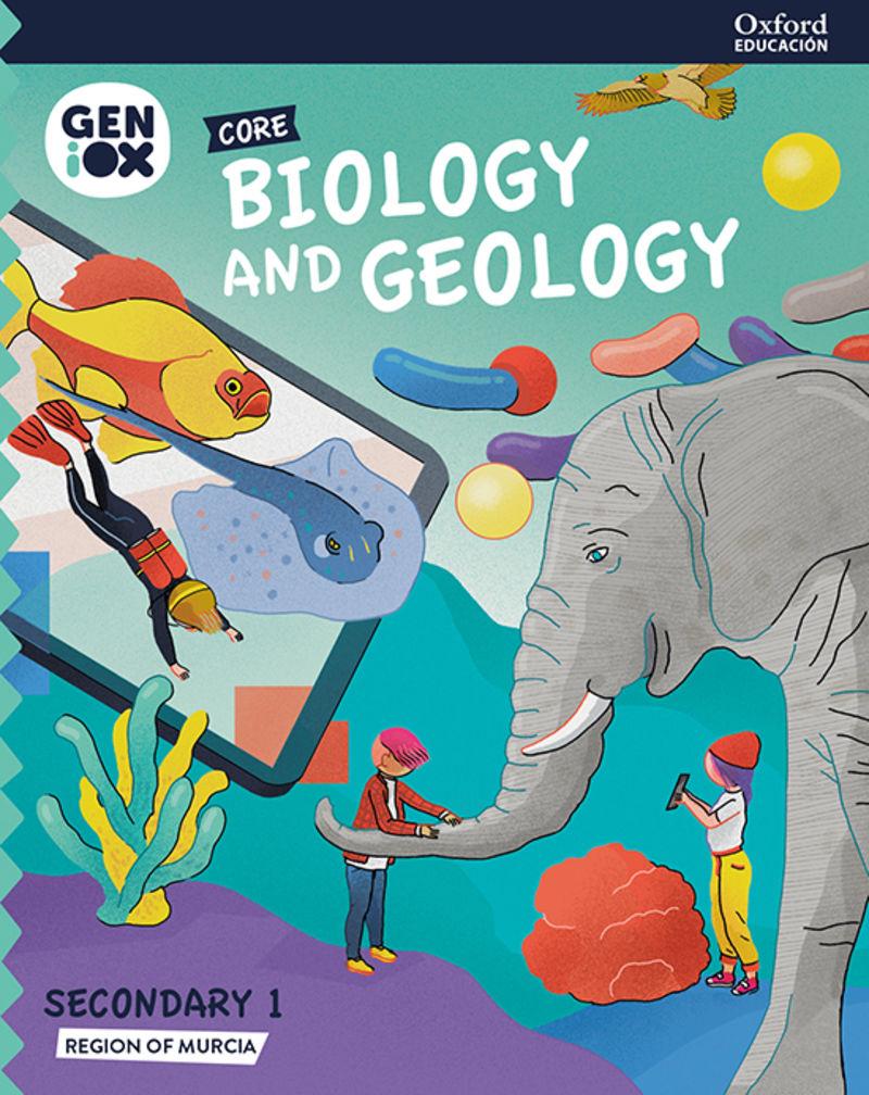 ESO 1 - BIOLOGY & GEOLOGY (MUR) GENIOX CORE BILING