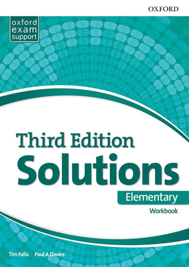 SOLUTIONS ELEM A2 WB PACK (3 ED)