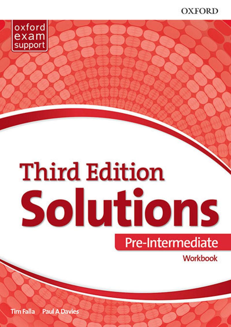 ESO 2 - SOLUTIONS PRE-INTERM B1 WB PACK (3 ED)