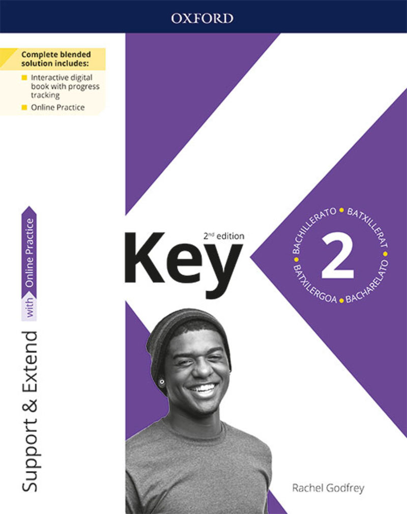 (2 ed) bach 2 - key to bach exam trainer & support & extend pack - Rachel Godfrey / [ET AL. ]