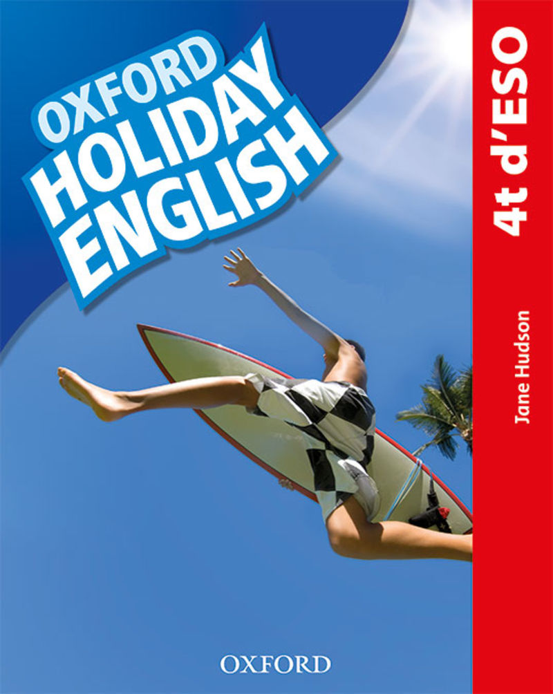 Eso 4 - Holiday English Pack (cat) (3 Ed) - Aa. Vv.