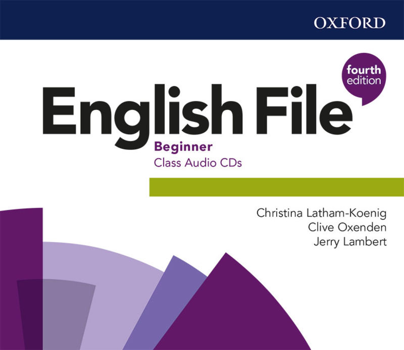 (4 ED) ENGLISH FILE BEGINNER A1 CLASS AUDIO-CD