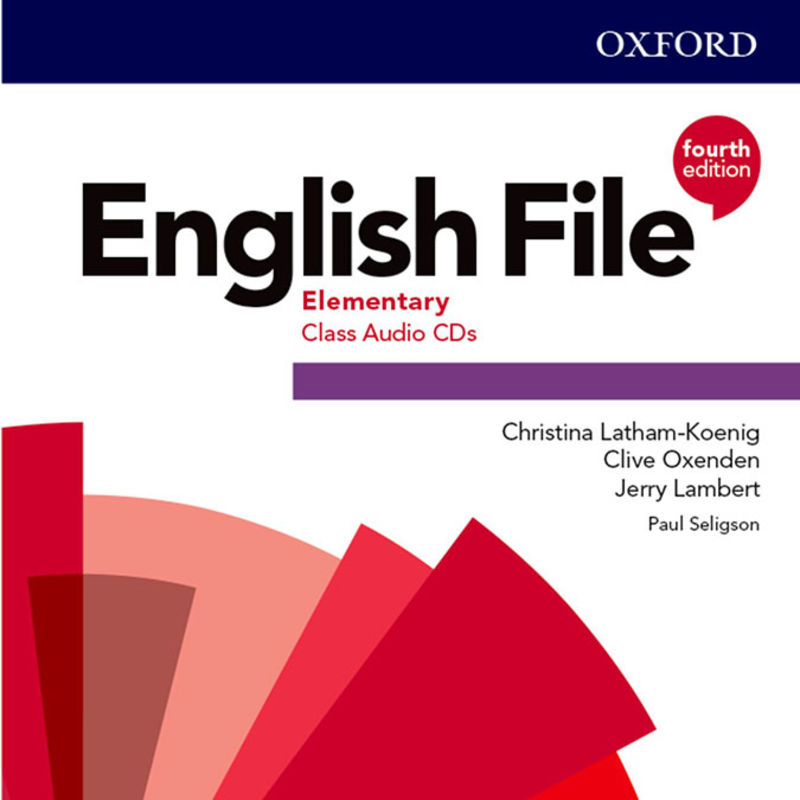 (4 ED) ENGLISH FILE ELEM A1 / A2 CLASS AUDIO-CD