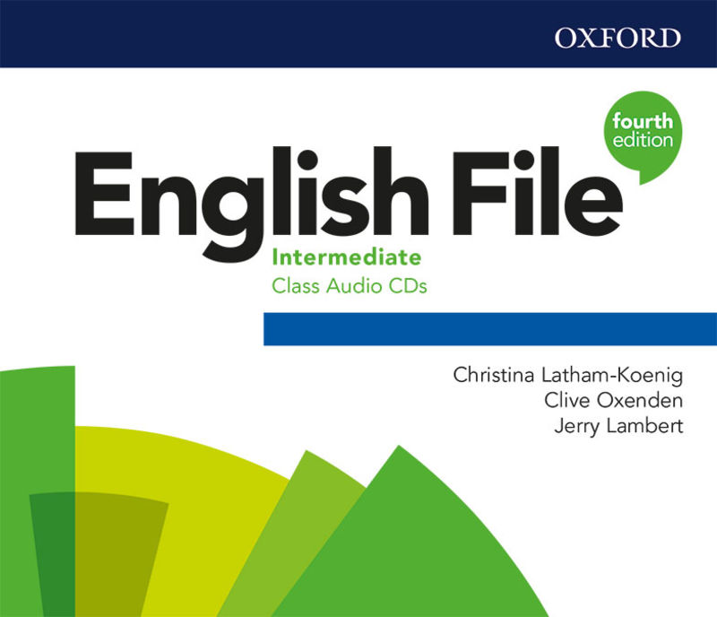 (4 ED) ENGLISH FILE INTERM B1 CLASS AUDIO-CD