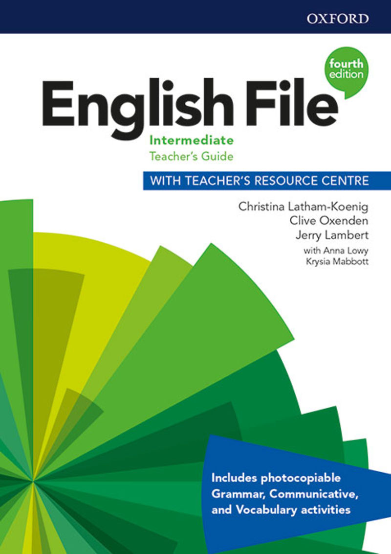 (4 ED) ENGLISH FILE INTERMENT TCH + TR MULTIPACK