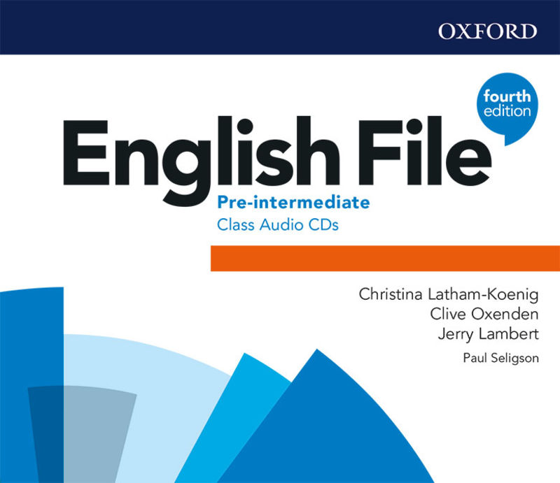 (4 ED) ENGLISH FILE PRE-INT CLASS AUDIO-CD