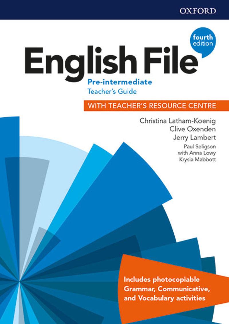 (4 ED) ENGLISH FILE PRE-INTERMENT TCH + TR MULTIPACK