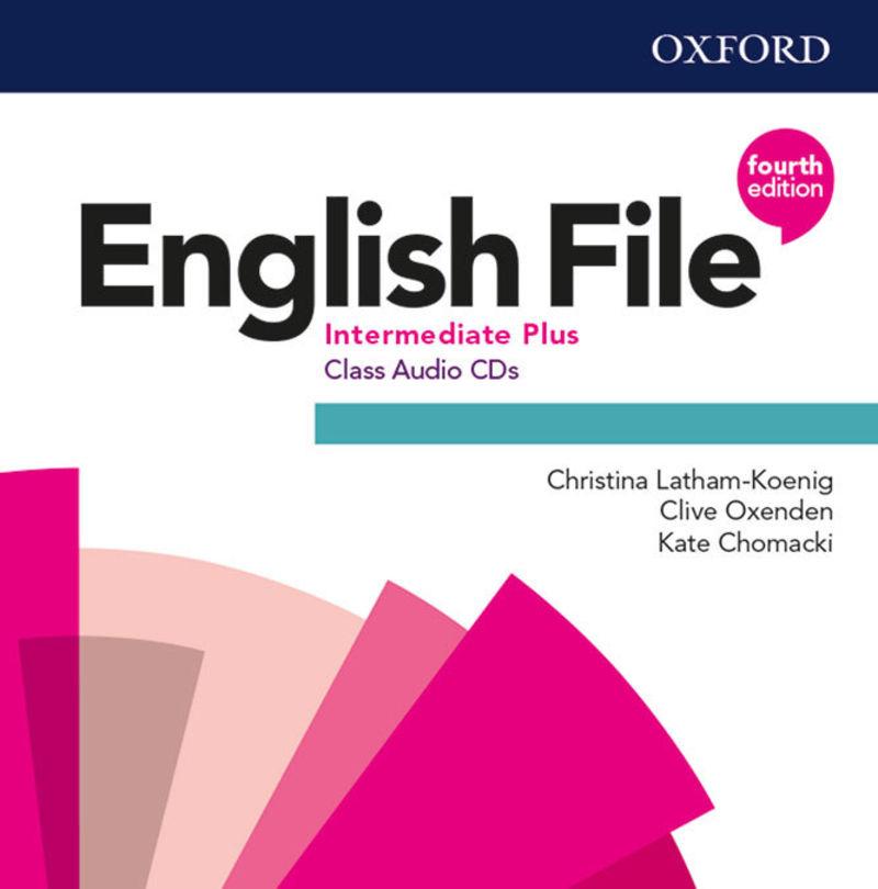 (4 ED) ENGLISH FILE INTERM PLUS B2.1 CLASS CD (5)
