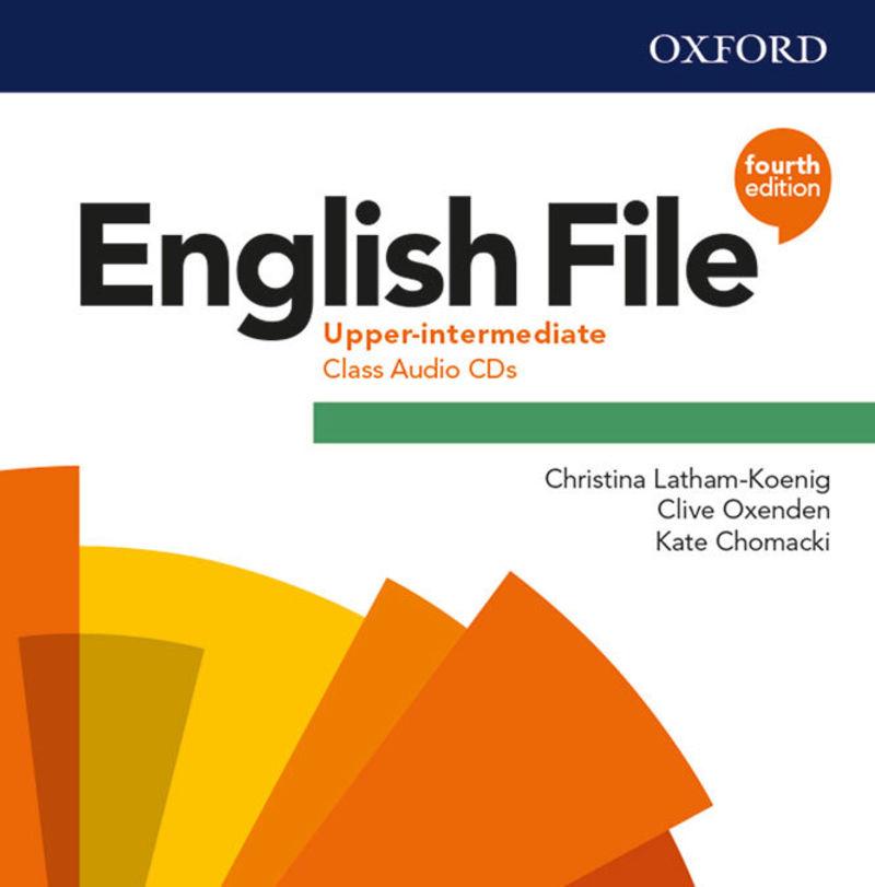 (4 ED) ENGLISH FILE UPPER-INTERM B2.2 CLASS CD (3)