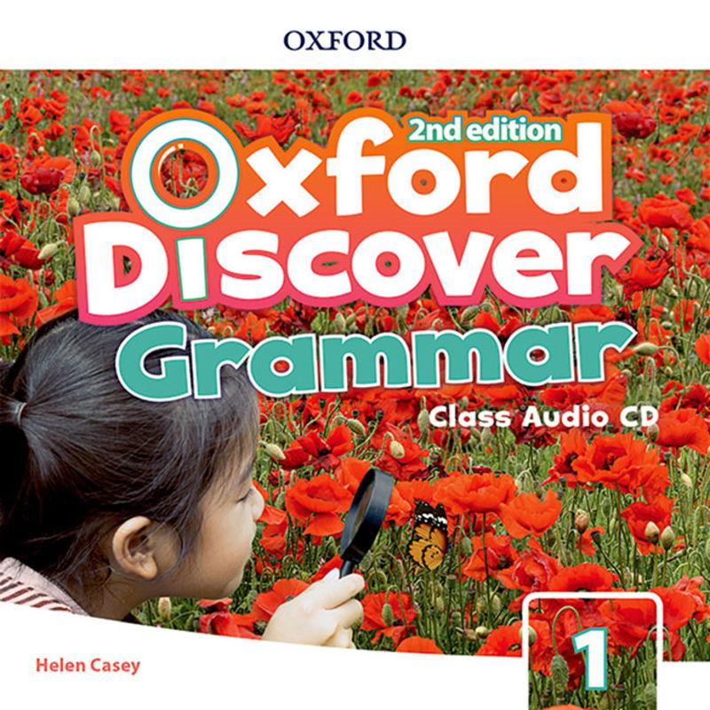 (2 ED) DISCOVER GRAMMAR 1 CLASS AUDIO-CD